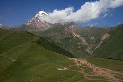 Ομορφιά του βουνού στοκ φωτογραφία