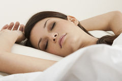 Ομορφιά ύπνου Στοκ φωτογραφία με δικαίωμα ελεύθερης χρήσης