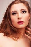 Ομορφιά eyelashes Στοκ φωτογραφίες με δικαίωμα ελεύθερης χρήσης