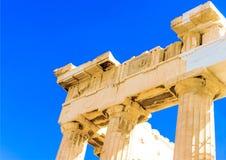 Ομορφιά Parthenon Στοκ φωτογραφίες με δικαίωμα ελεύθερης χρήσης