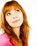 ομορφιά redhair στοκ φωτογραφία με δικαίωμα ελεύθερης χρήσης