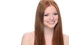 Ομορφιά Redhead Στοκ Εικόνα