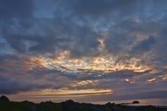 Ομορφιές της νορβηγικής ακτής Στοκ εικόνες με δικαίωμα ελεύθερης χρήσης