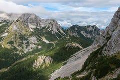 Ομορφιές των ιουλιανών Άλπεων, Σλοβενία στοκ εικόνες
