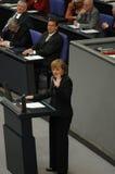 Ομοσπονδιακή Βουλή κανένας ψήφος εμπιστοσύνης 2005 Στοκ Φωτογραφίες