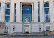 Ομοσπονδιακό δικαστήριο στο Μοντγκόμερυ Αλαμπάμα Στοκ Εικόνα