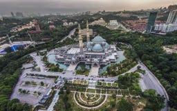 Ομοσπονδιακό μουσουλμανικό τέμενος εδαφών, Μαλαισία Στοκ Φωτογραφίες