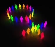 ομοφυλοφιλικές γυναίκες συμβόλων πυράκτωσης Διανυσματική απεικόνιση