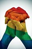 Ομοφυλοφιλική ένωση Στοκ Φωτογραφία