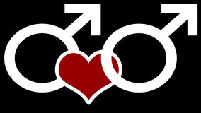 ομοφυλοφιλική αγάπη ελεύθερη απεικόνιση δικαιώματος