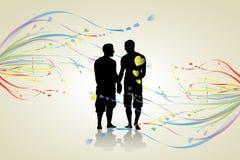 Ομοφυλοφιλική ανασκόπηση Στοκ φωτογραφία με δικαίωμα ελεύθερης χρήσης