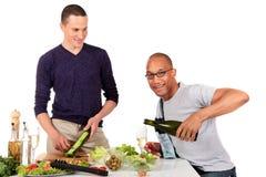 ομοφυλοφιλική κουζίνα Στοκ Εικόνα