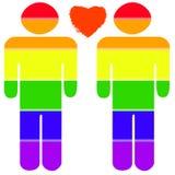 ομοφυλοφιλική υπερηφάν& Στοκ εικόνα με δικαίωμα ελεύθερης χρήσης