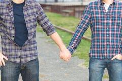 Ομοφυλοφιλικό ζεύγος Στοκ εικόνα με δικαίωμα ελεύθερης χρήσης