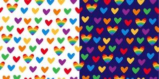 Ομοφυλοφιλικό σχέδιο αγάπης διανυσματική απεικόνιση