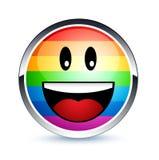 ομοφυλοφιλικό smiley Στοκ Εικόνες