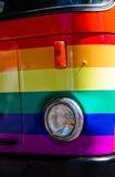 ομοφυλοφιλικό truck Στοκ φωτογραφία με δικαίωμα ελεύθερης χρήσης