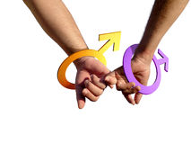 ομοφυλόφιλοι Στοκ φωτογραφία με δικαίωμα ελεύθερης χρήσης
