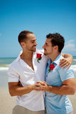 ομοφυλόφιλος ζευγών Στοκ Εικόνες
