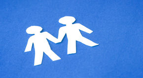 ομοφυλόφιλος ζευγών Στοκ εικόνες με δικαίωμα ελεύθερης χρήσης