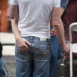 ομοφυλόφιλος ζευγών Στοκ Εικόνα