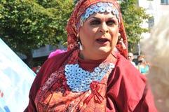 Ομοφυλοφιλική παρέλαση 2013 υπερηφάνειας στη Στοκχόλμη Στοκ Φωτογραφία