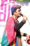 Ομοφυλοφιλική υπερηφάνεια Μάρτιος σε Mumbai Στοκ Εικόνα