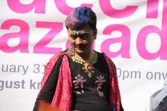Ομοφυλοφιλική υπερηφάνεια Μάρτιος σε Mumbai Στοκ Εικόνες