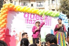 Ομοφυλοφιλική υπερηφάνεια Μάρτιος σε Mumbai Στοκ εικόνες με δικαίωμα ελεύθερης χρήσης