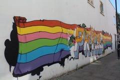 Ομοφυλοφιλική υπερηφάνεια Μπράιτον Στοκ Φωτογραφίες