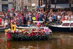 Ομοφυλοφιλική υπερηφάνεια 2014 του Άμστερνταμ Στοκ Φωτογραφία