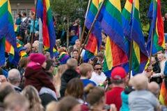 Ομοφυλοφιλική υπερηφάνεια VII Στοκ Εικόνες