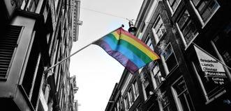 Ομοφυλοφιλικό Άμστερνταμ Στοκ Εικόνα