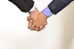Ομοφυλοφιλικό χέρι με το χέρι Στοκ Εικόνα