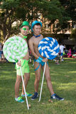 Ομοφυλόφιλος και λεσβία Mardi Gras του Σίδνεϊ Στοκ φωτογραφία με δικαίωμα ελεύθερης χρήσης