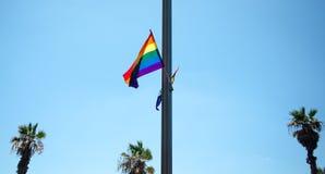 ομοφυλόφιλος σημαιών Στοκ Φωτογραφίες
