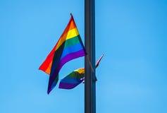 ομοφυλόφιλος σημαιών Στοκ φωτογραφίες με δικαίωμα ελεύθερης χρήσης