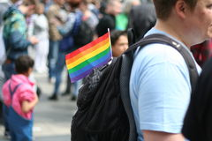 ομοφυλόφιλος σημαιών Στοκ εικόνες με δικαίωμα ελεύθερης χρήσης