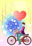 Ομολογίες της αγάπης διανυσματική απεικόνιση