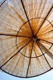 ομπρέλα αχύρου Στοκ Εικόνες