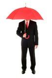 ομπρέλα επιχειρηματιών Στοκ Φωτογραφία