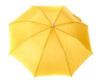 ομπρέλα κίτρινη Στοκ Εικόνες
