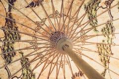 Ομπρέλα μπαμπού εγγράφου Στοκ φωτογραφίες με δικαίωμα ελεύθερης χρήσης