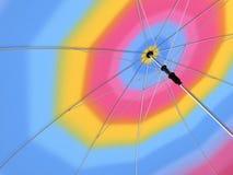 ομπρέλα ουράνιων τόξων απεικόνιση αποθεμάτων
