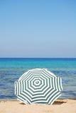 ομπρέλα παραλιών Στοκ Εικόνες