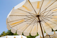 ομπρέλα παραλιών Στοκ φωτογραφία με δικαίωμα ελεύθερης χρήσης