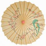 Ομπρέλα που απομονώνεται ασιατική Στοκ Φωτογραφίες