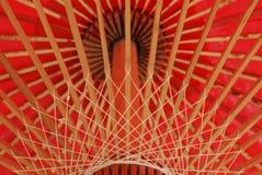 ομπρέλα της Ταϊλάνδης τέχνη&sigm Στοκ εικόνες με δικαίωμα ελεύθερης χρήσης