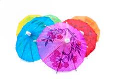 ομπρέλα 02 σειρών κοκτέιλ Στοκ Εικόνες