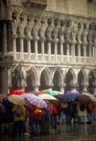 ομπρέλες πλατειών SAN marco Στοκ Εικόνες